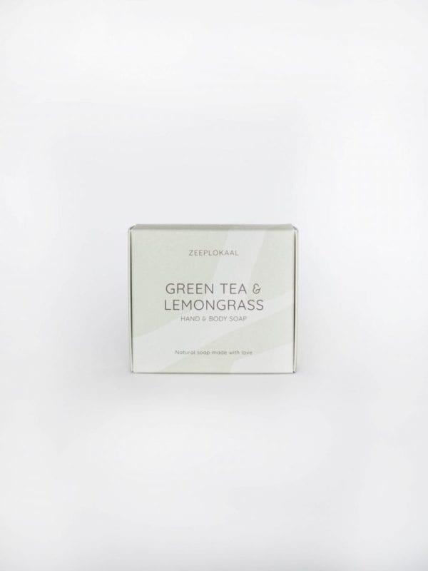 Klik om naar Zeep groene thee & citroengras - Het Zeeplokaal te gaan